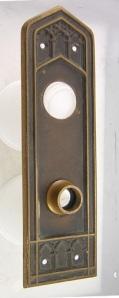Bronze Door Plate